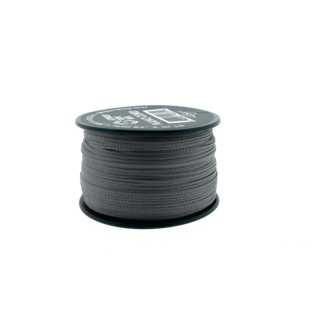 123Paracord Nano cord Grau 90mtr