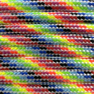 123Paracord Paracord 550 typ III Light Stripes