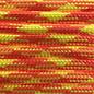 123Paracord Paracord 550 typ III Lumberjack Orange / gelb Neon