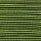 123Paracord Paracord 550 typ III Neon Gelb / Schwarz Stripes
