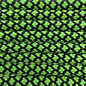 123Paracord Paracord 550 typ III Neon Grün Diamond