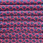 123Paracord Paracord 550 typ III Neon Rosa / Dunkel Cyan Diamond