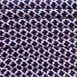 123Paracord Paracord 550 typ III Rose Rosa / Midnight Blau Diamond