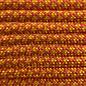 123Paracord Paracord 550 typ III solar Orange / Goldenrod Diamond