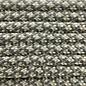 123Paracord Paracord 550 typ III Steel Grau / Papayawhip Diamond