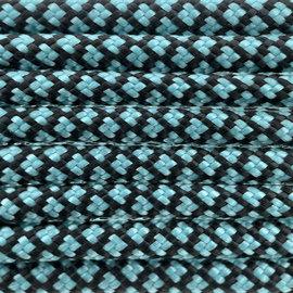123Paracord Paracord 550 typ III Türkis Diamond