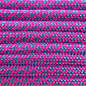 123Paracord Paracord 550 typ III Ultra Neon Rosa / Baby Blau Diamond