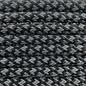 123Paracord Paracord 550 typ III Ultra Reflektierend & Schwarz Diamond