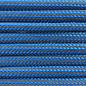 123Paracord Paracord 550 typ III Ultra Reflektierend Greece blau striped