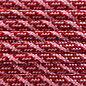 123Paracord Paracord 550 typ III Imperial Rot / Rose Rosa Helix DNA
