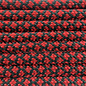 123Paracord Paracord 550 typ III Imperial Rot Diamond