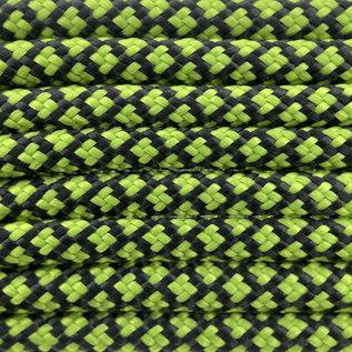 123Paracord Paracord 550 typ III Leaf Grün Diamond