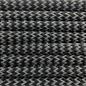123Paracord Paracord 550 typ III Ultra Reflektierend & Schwarz Shockwave