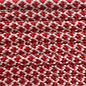 123Paracord Paracord 550 typ III Cream / Imperial Rot Diamond