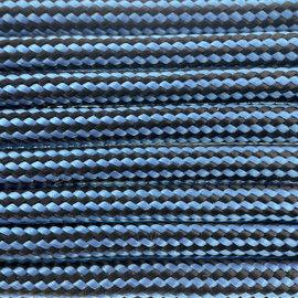 123Paracord Paracord 550 typ III Dunkel Baby Blau Streifen