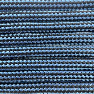 123Paracord `Paracord 550 typ III Dunkel Baby Blau Streifen