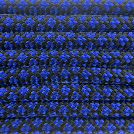 123Paracord Paracord 550 typ III Electric Blau Diamond