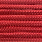 123Paracord Paracord 550 typ III Scarlet Rot