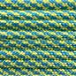 123Paracord Paracord 550 typ III blau / gelb Turn