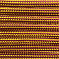 123Paracord Paracord 550 typ III Burgundy / Goldenrod Stripes