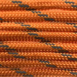 123Paracord Paracord 550 typ III Fox Orange Reflektierend