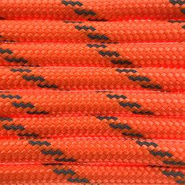 123Paracord Paracord 550 typ III Orange neon Reflektierend