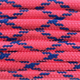 123Paracord Paracord 550 typ III Pinky Blue