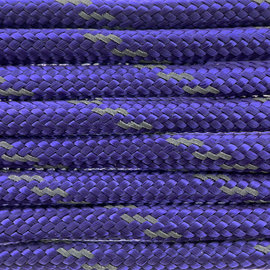 123Paracord Paracord 550 typ III Royal Lila Reflektierend