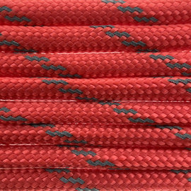 123Paracord Paracord 550 typ III Simply Rot Reflektierend