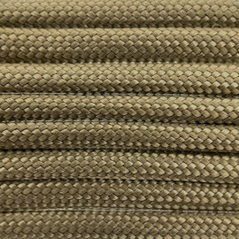 123Paracord Paracord 550 typ III Gold Braun