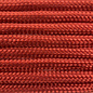 123Paracord Paracord 550 typ III Rot Chili