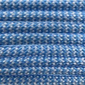 123Paracord Paracord 550 typ III Baby Blue Shockwave
