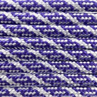 123Paracord Paracord 550 typ III Acid Lila / Silber Grau Helix DNA