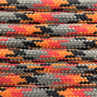 123Paracord Paracord 550 typ III Forestfire