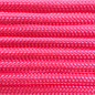 123Paracord Paracord 550 typ III Rosa Neon