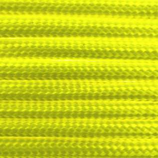 123Paracord Paracord 550 typ III Ultra Neon Gelb