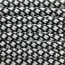 123Paracord Paracord 550 typ III Silber Grau Diamond