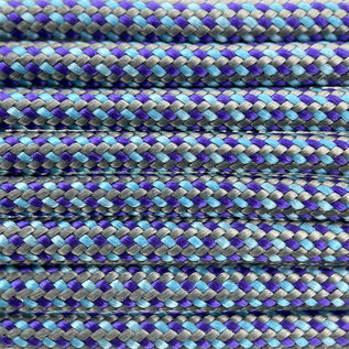 123Paracord Paracord 550 typ III Mystical mermaid Color FX