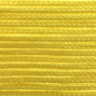 123Paracord Microcord 1.4MM Lemon Gelb