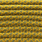 123Paracord Paracord 550 typ III Goldenrod / moss Diamond