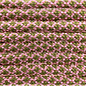 123Paracord Paracord 550 typ III Rose Rosa / moss Diamond