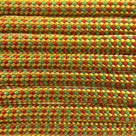 123Paracord Paracord 550 typ III Tiger lily Color FX