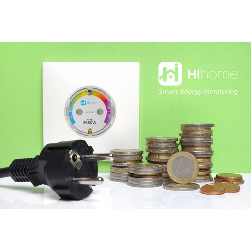 Hihome Hihome Smart Wi-Fi Plug 16A met Energieverbruiksmeter
