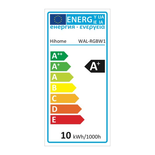 Hihome Hihome Ambience RGB + warm  wit LED WiFi  lamp