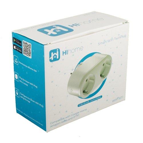 Hihome HiHome Smart WiFi TwinPlug WPP-16