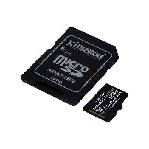 Kingston Kingston Technology microSD geheugenkaart Class 10 128GB