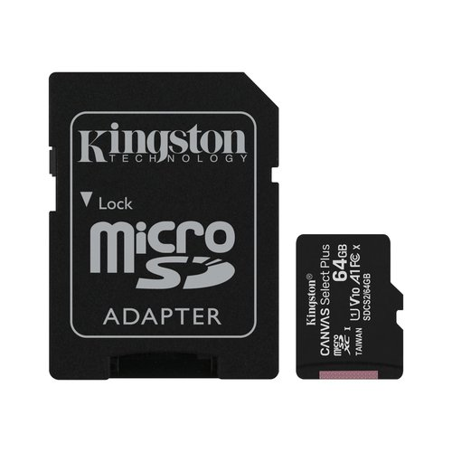 Kingston Kingston Technology microSD Speicherkarte Class 10 64GB