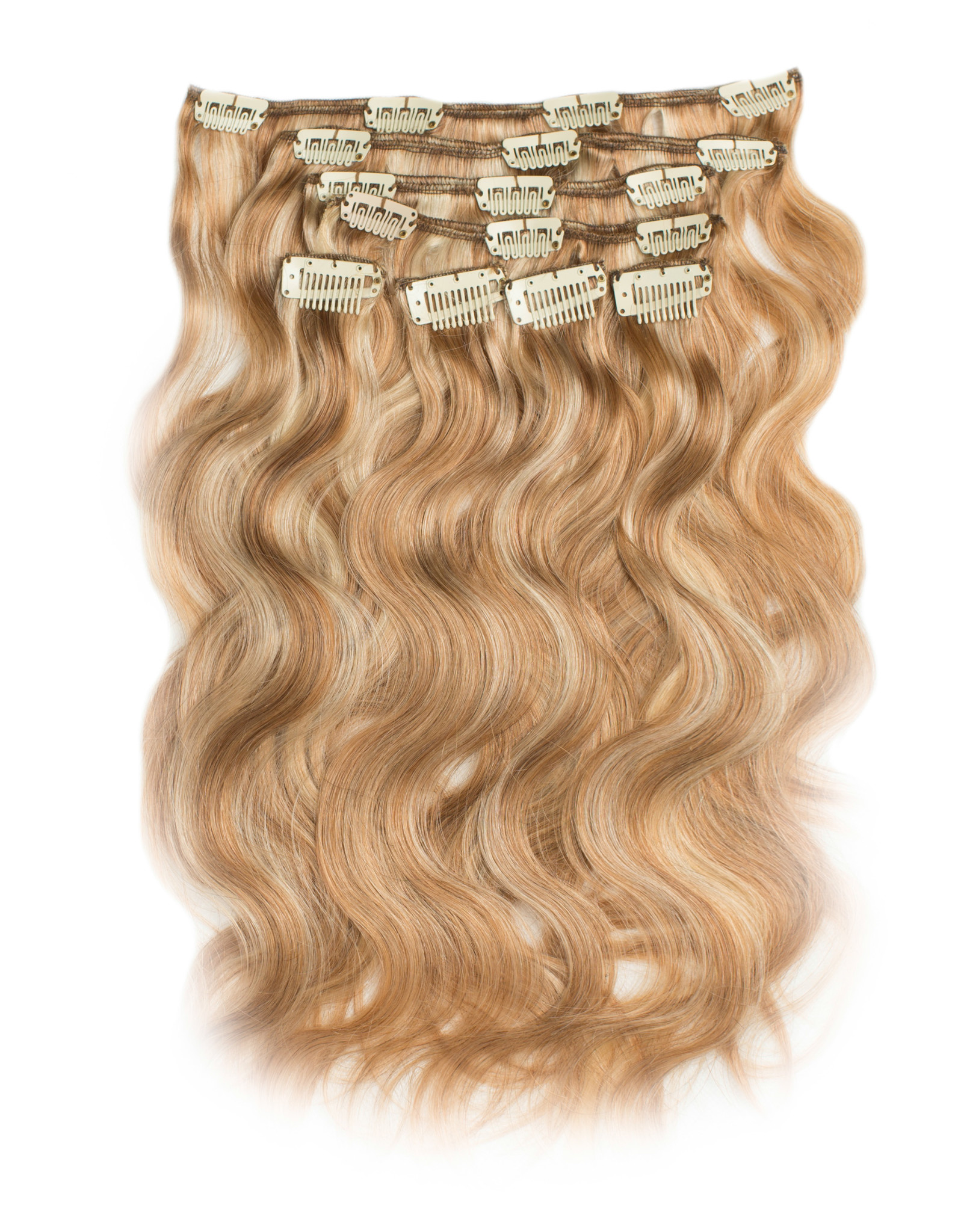 RedFox Clip-in Extensions - Body Wave - 45cm