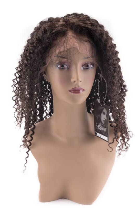 ArcticFox Virgin Front Lace Wig - Jerry Curl