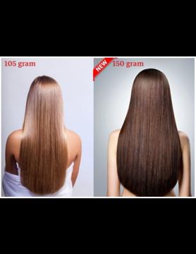 RedFox Clip-in Extensions  45cm - Extra Volume - 150 gram